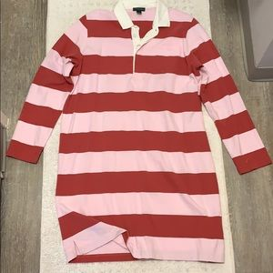 J. Crew Woman's 1984 Rugby Shirtdress